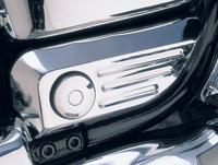 Show Chrome Accessories Swingarm Pivot Cover