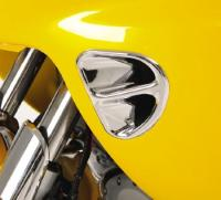 Show Chrome Accessories Fairing Air Intake Accent Grills for GL1800 Gold Wing
