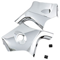 Show Chrome Accessories Chrome Neck Covers