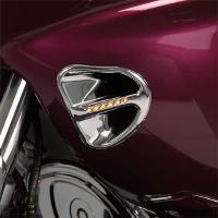 Show Chrome Accessories Air Intake Grille with LEDs for GL1800 Gold Wing