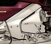Show Chrome Accessories Frame Covers for GL1800 Gold Wing