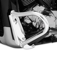 Cobra Boulevard Chrome 1-1/4″ Engine Case Guards