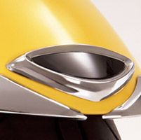 Show Chrome Accessories Fender Medallion Accent for Gold Wing