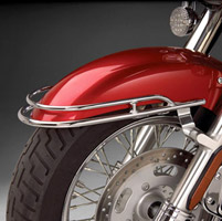 Show Chrome Accessories Chrome Front Fender Rail