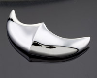National Cycle Chrome Front Fender Tip for Intruder and Boulevard