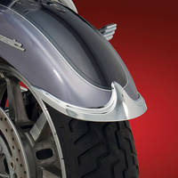 Show Chrome Accessories Contour Front Fender Tip Accents