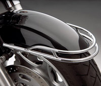 Show Chrome Accessories Front Fender Trim Rail