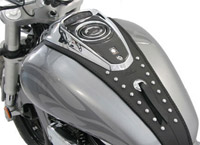 Mustang Studded Tank Bib for Suzuki M50