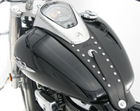 Mustang Studded Tank Bib for Suzuki C50
