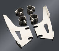 Memphis Shades Fats/Slims Polished Quick Change Mount Kit