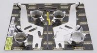 Memphis Shades Sportshield Polished Quick Change Mount Kit