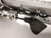 Show Chrome Accessories Lower Rain Deflectors for GL1800 Gold Wing