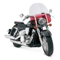 Memphis Shades Memphis Fats 19″ Tall Grandient Ruby Windshield 9″ Headlight