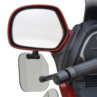 National Cycle Light Tint Mirror Mount Wing Deflector for GL1800