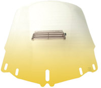 Memphis Shades Standard Vented Gradient Yellow Windshield