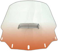 Memphis Shades Standard Vented Gradient Burnt Orange Windshield