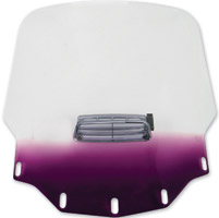Memphis Shades Tall Vented Gradient Purple Windshield