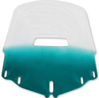 Memphis Shades Standard Vented Gradient Teal Windshield