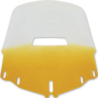 Memphis Shades Tall Vented Gradient Yellow Windshield