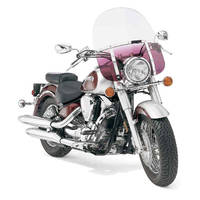Memphis Shades Memphis Fats 19″ Tall Gradient Purple Windshield 11″ Headlight