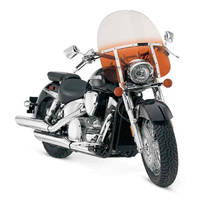 Memphis Shades Memphis Fats 19″ Tall Gradient Orange Windshield 11″ Headlight