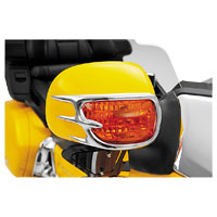 Show Chrome Accessories Mirror Back Accent Grills