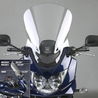 National Cycle Tall VStream Windshield for Suzuki Bandit 1250
