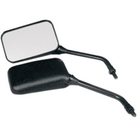 Black Universal Mirror Set