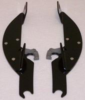 Memphis Shades Batwing Mounting Plates for Honda