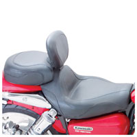Mustang 2-Piece Sport Touring Seat with Backrest