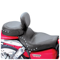 Mustang 2-Piece Studded Sport Touring Seat with Backrest