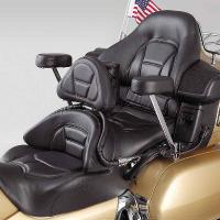 Show Chrome Accessories Backrest/Armrest Combo