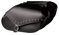 Willie & Max Revolution Series Studded Large Hard Mount Saddlebag