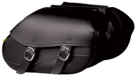 Willie & Max Revolution Series Swooped Small Hard Mount Saddlebag