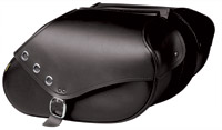 Willie & Max Revolution Series Grommet Small Hard Mount Saddlebag