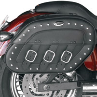 Saddlemen S4 Rigid-Mount Quick-Disconnect Desperado Saddlebag