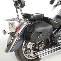 Willie & Max Revolution Series Belted Small Throwover Saddlebags