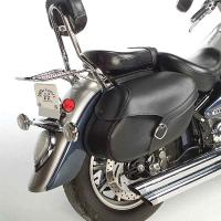 Willie & Max Revolution Series Belted Large Throwover Saddlebags