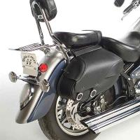 Willie & Max Revolution Series Retro Small Throwover Saddlebags