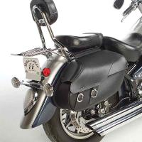 Willie & Max Revolution Series Retro Large Throwover Saddlebags