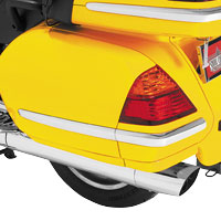Show Chrome Accessories Saddlebag Molding Inserts