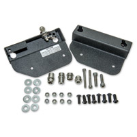 Easy Brackets Saddlebag Mounting System for Honda VTX1300/1800C with Paladin Quick Detachable Backrest