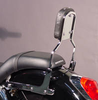MC Enterprises Chrome Sissy Bar with Studded Pad