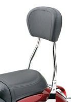 Cobra Standard Square Sissy Bar with Pad