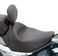Mustang Vintage Solo Seat with Driver Backrest