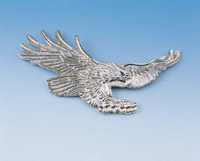 Show Chrome Accessories Screaming Eagle Emblem