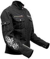 Speed and Strength Little Miss Dangerous Black Textile Jacket