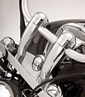 Show Chrome Accessories Round Handlebar Risers