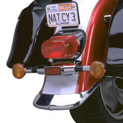 National Cycle Chrome Rear Fender Tip for Suzuki VL1500LC