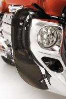 Show Chrome Accessories Lower Cowl Deflectors for GL1800 Gold Wing